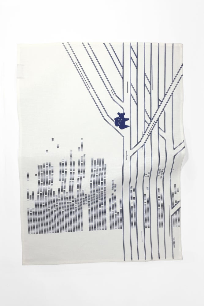 Image of Gumtree Hug - Tea Towel