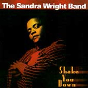 "Image of The Sandra Wright Band - ""Shake You Down"" CD"