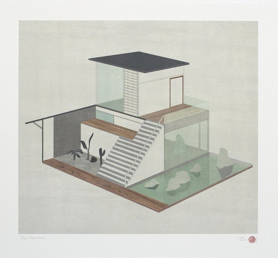 Image of Pond House ( Artist Proof version)