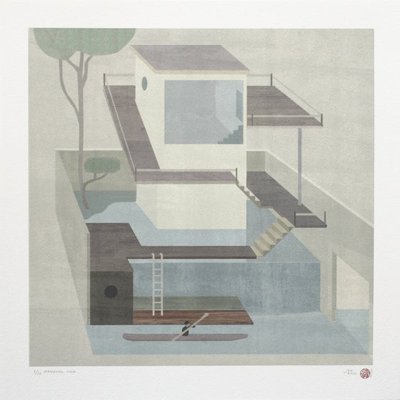 Image of Waterfall Villa ( Artist Proof edition)