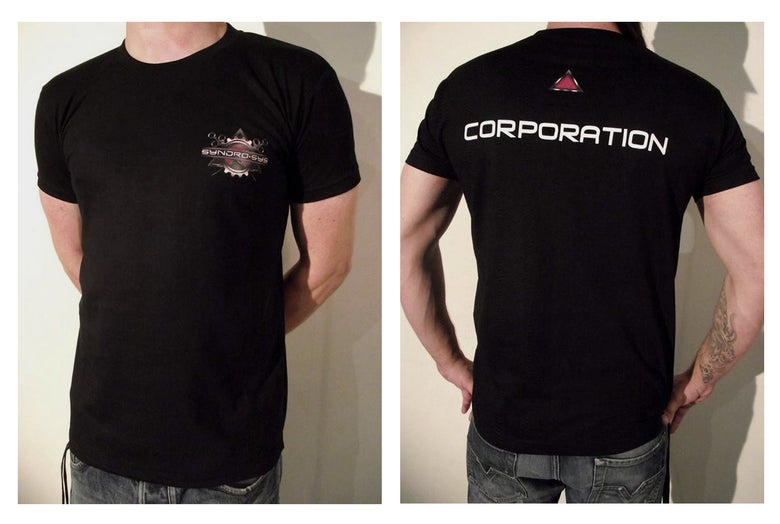 "Image of T-Shirt "" CORPORATION "" Men And Women"
