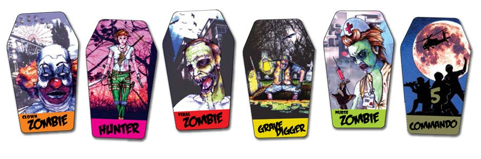 Image of ZEVEN CARD ZOMBIE