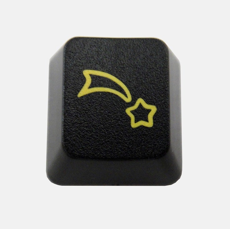 Image of Black Falling Star Keycap