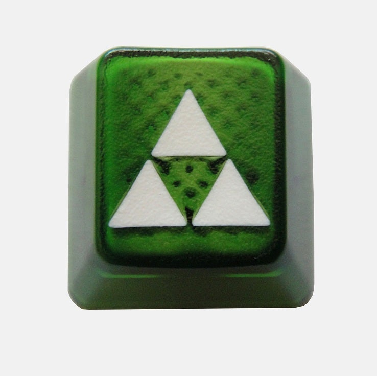 Image of Translucent Triforce Keycap[White Edition]