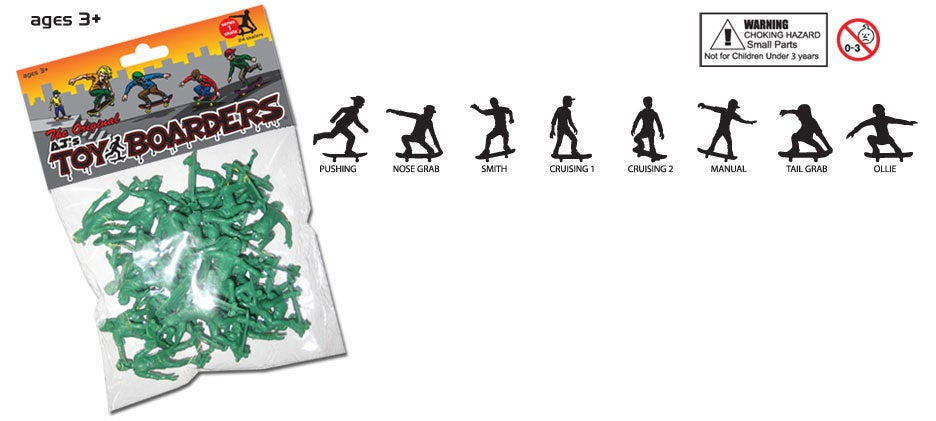 Image of AJ'S TOY BOARDERS - SKATE SERIES 1