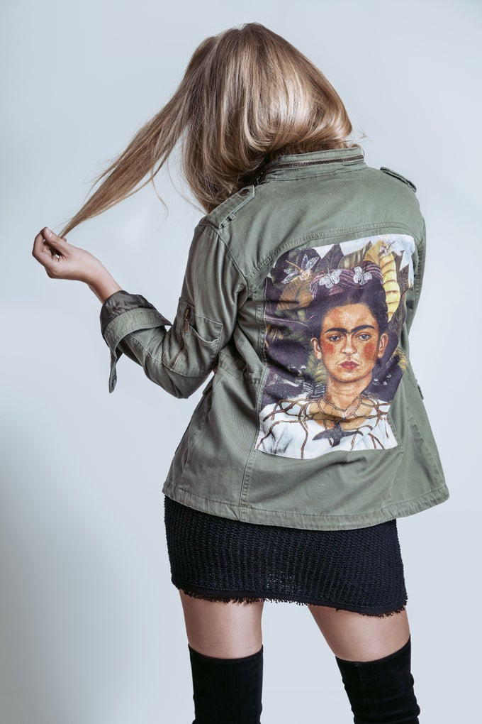 Image of FYEO Frida Backpiece Parka