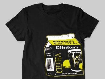 Image of ICE TEA SHIRT ON BLACK (IN STOCK)