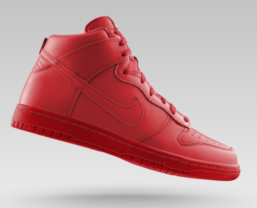 Nike Dunk High (Red Bottom) / TheRealestOut