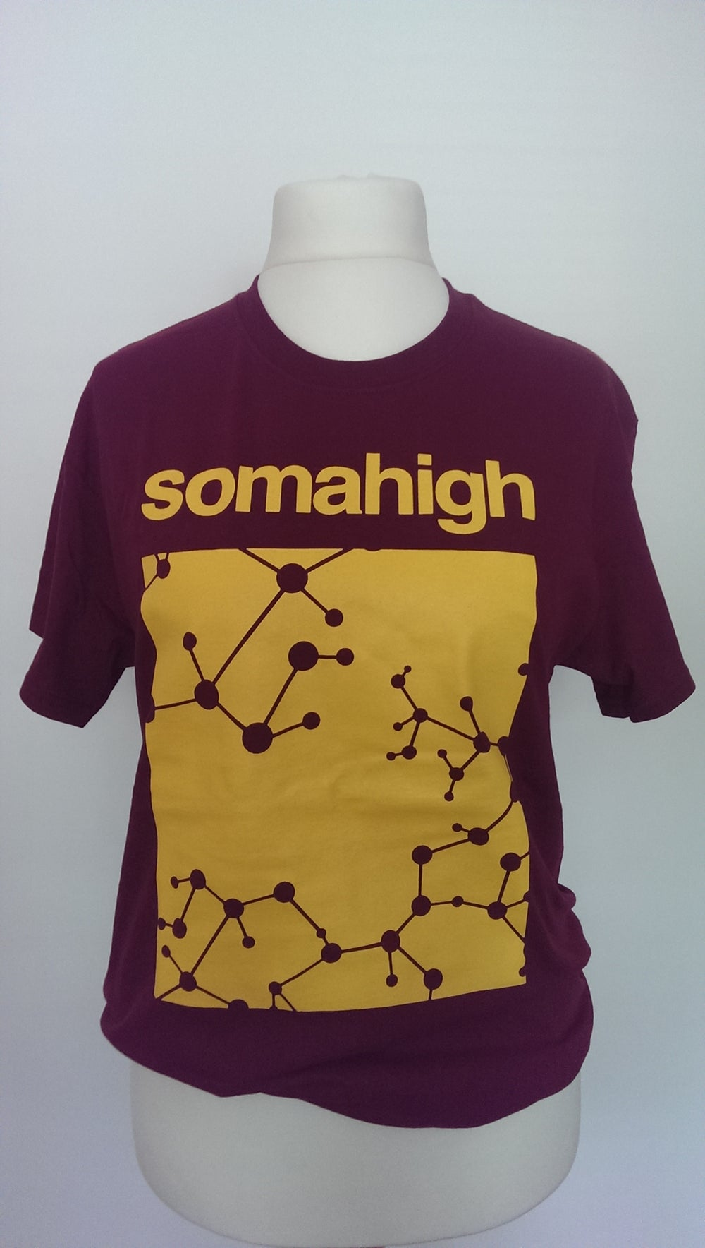 Image of TOUGH LOVE YELLOW LOGO T-SHIRT