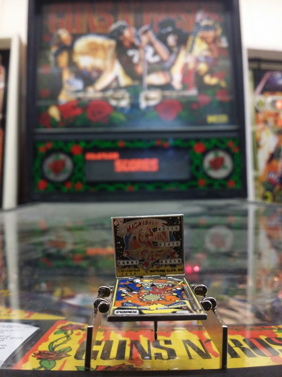 Image of Magnaball Pinball Machine