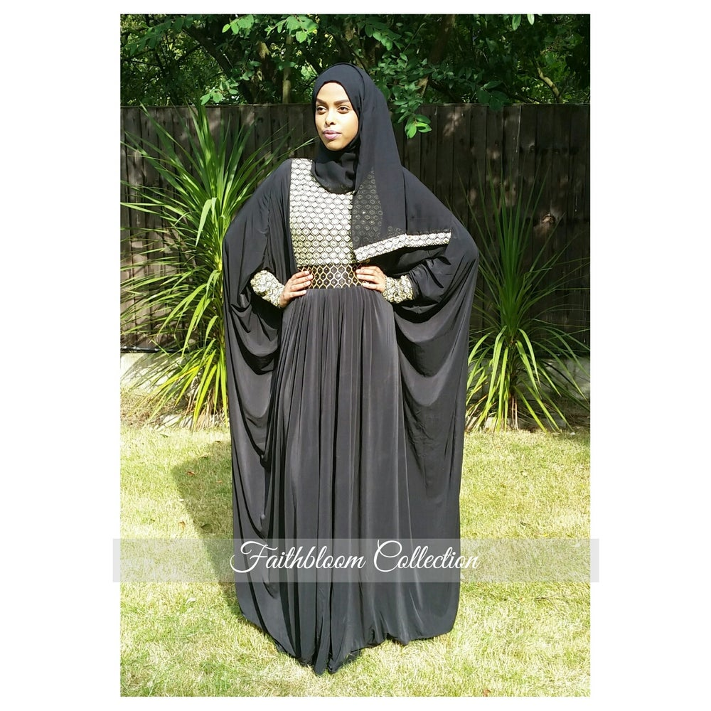 Image of Baseerah Arabian Abaya (Originally £38)