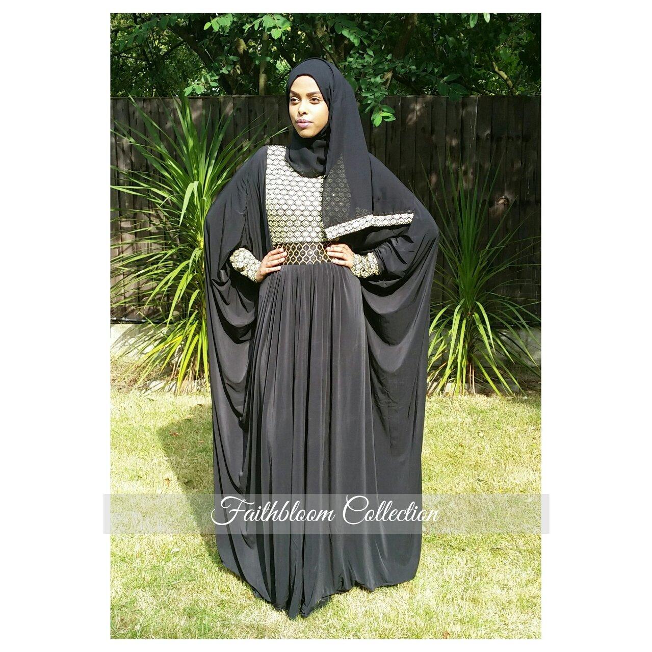 Image of Baseerah Arabian Abaya (Originally £38)