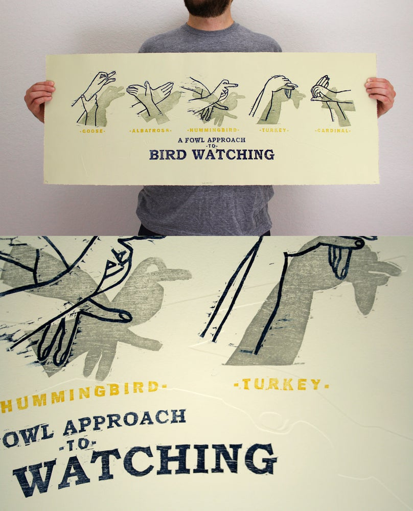 Image of A Fowl Approach to Bird Watching