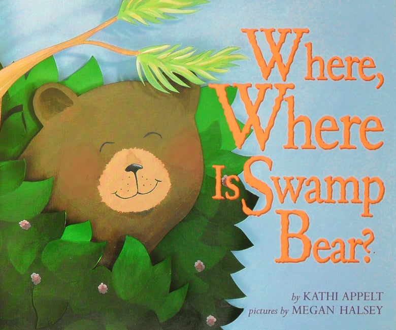 Image of Where, Where is Swamp Bear? Book