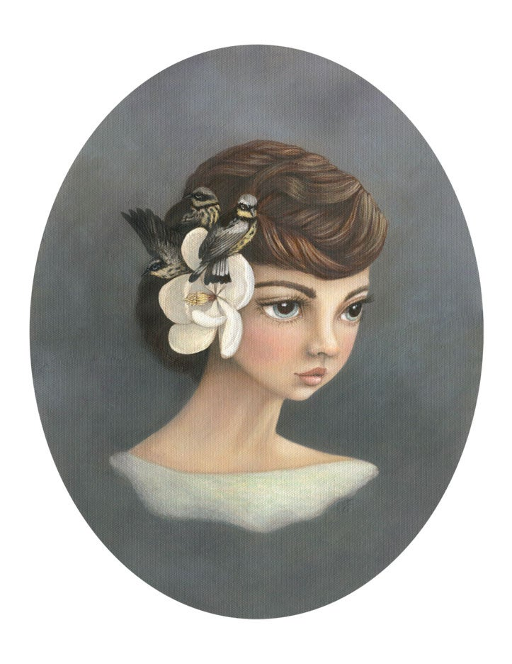 Image of Magnolia 11x14 print