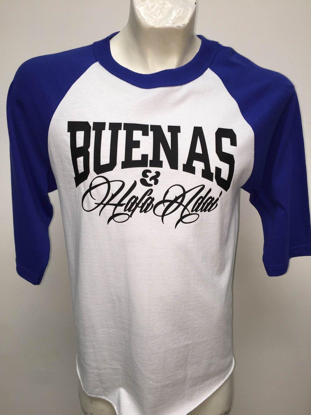 Image of Buenas & Hafa Adai Original (White/Blue)