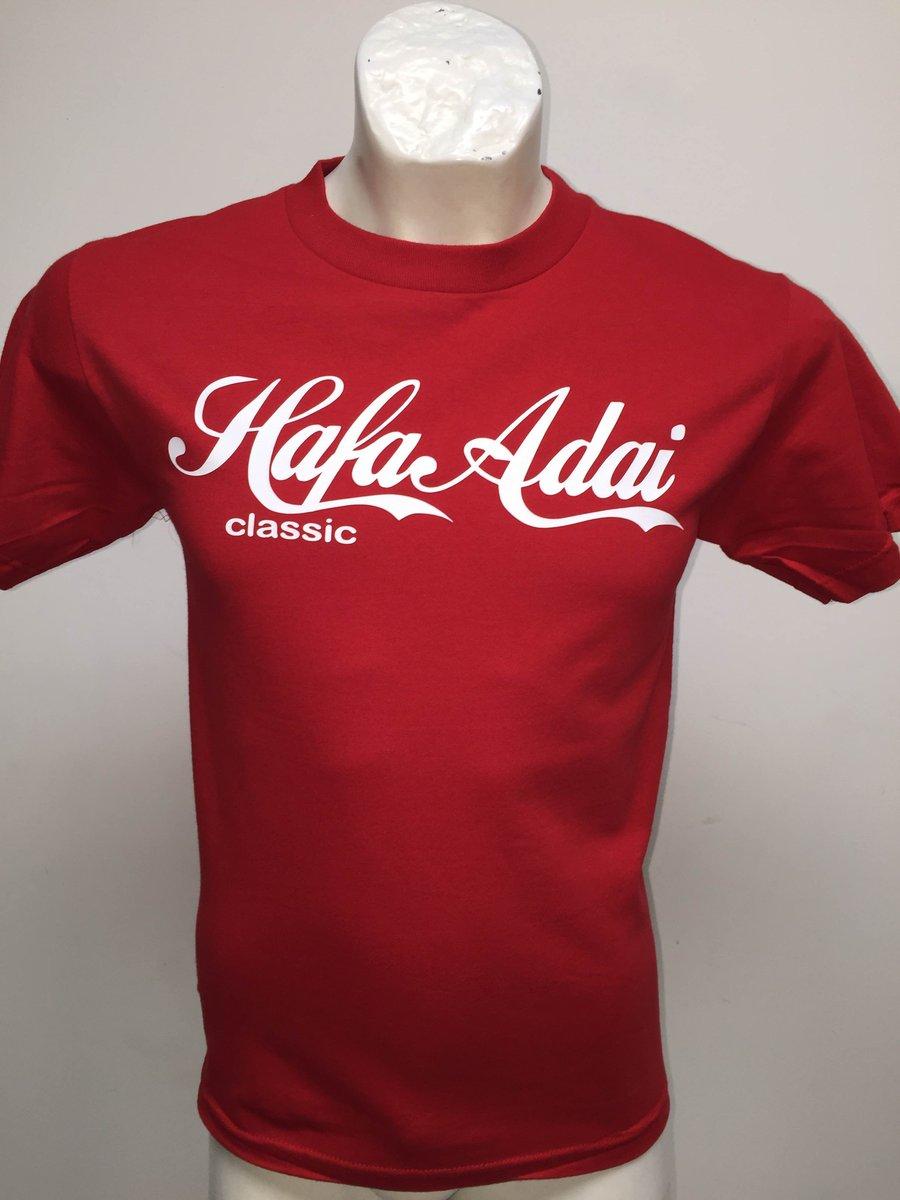 Image of Hafa Adai: Coco Cola Style (Red/White)