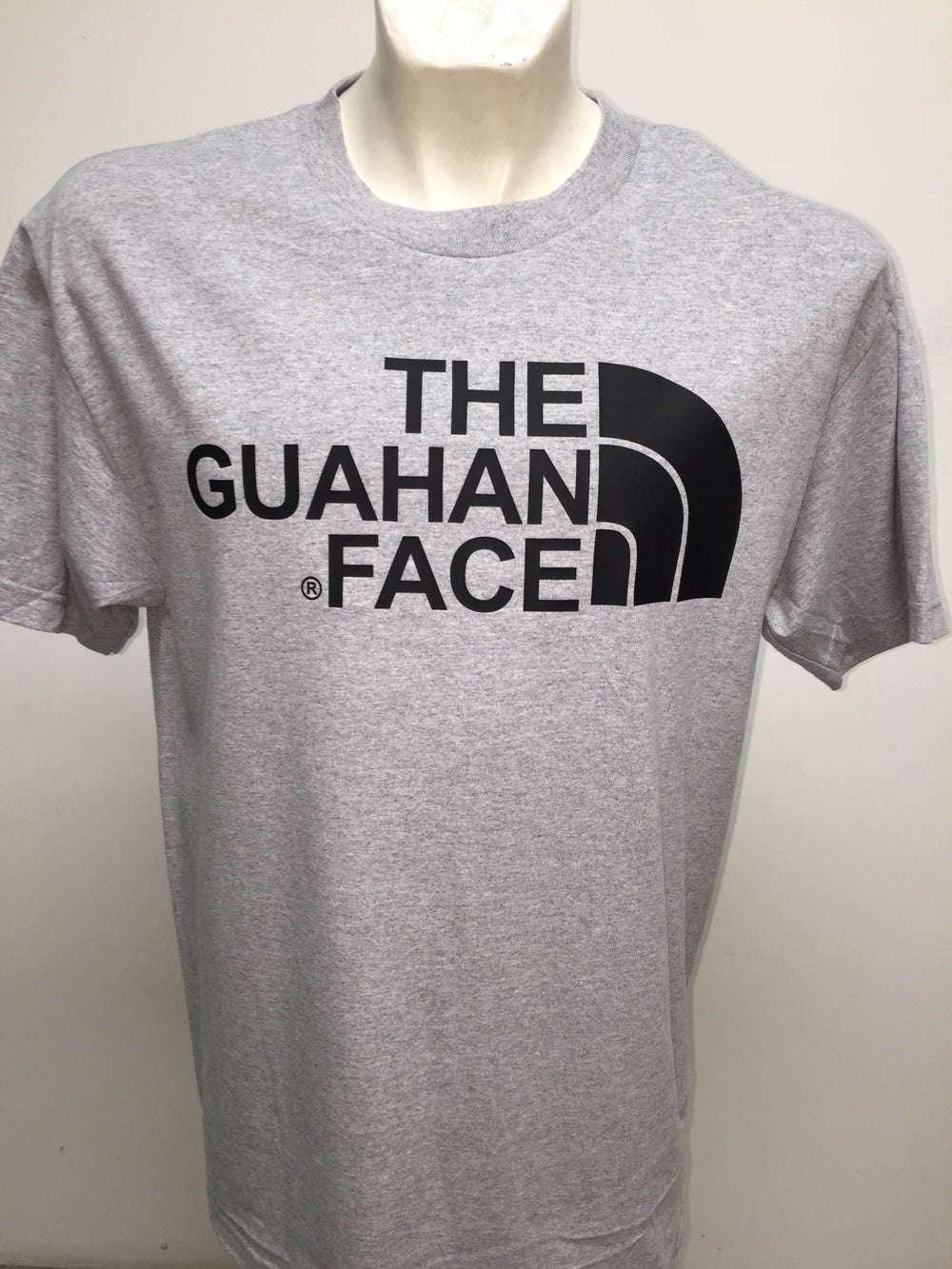 Image of The Guahan Face (Grey/Black)