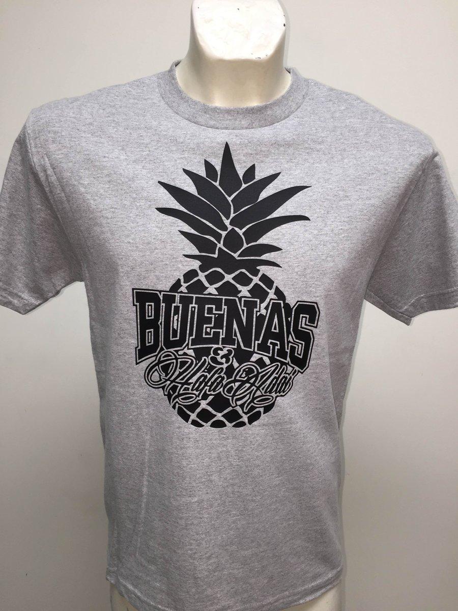 Image of Buenas & Hafa Adai: Pineapple (Grey/Black)