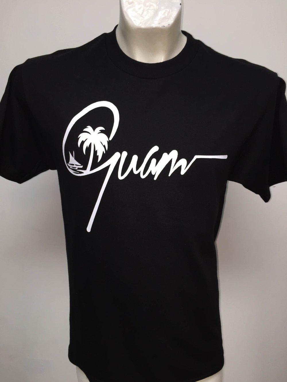 Image of Guam Signature (Black/White)