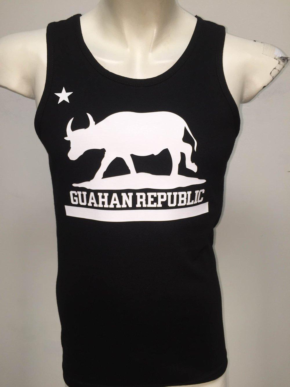 Image of Guahan Republic: Carabou Tank (Black/White)