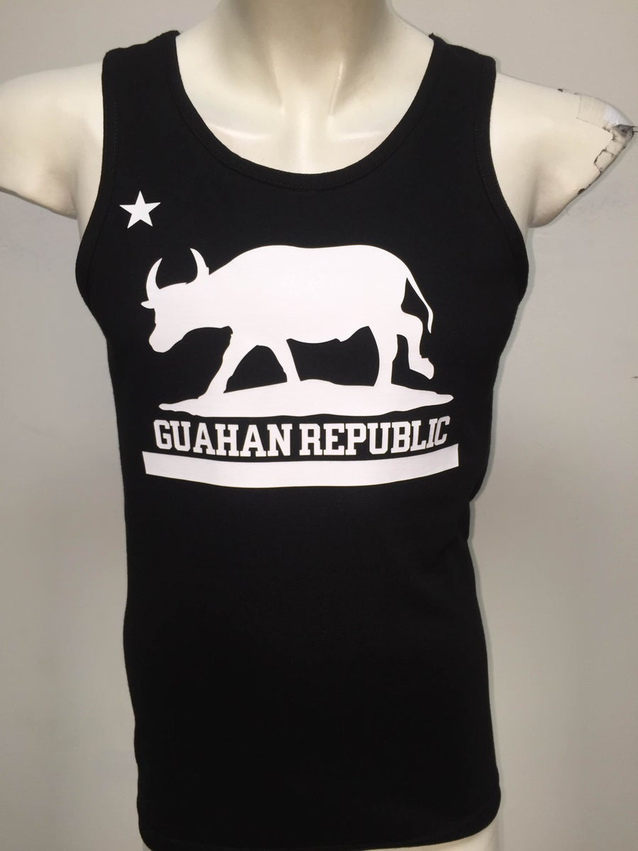 Image of Guahan Republic: Carabou Tank (Black/White)