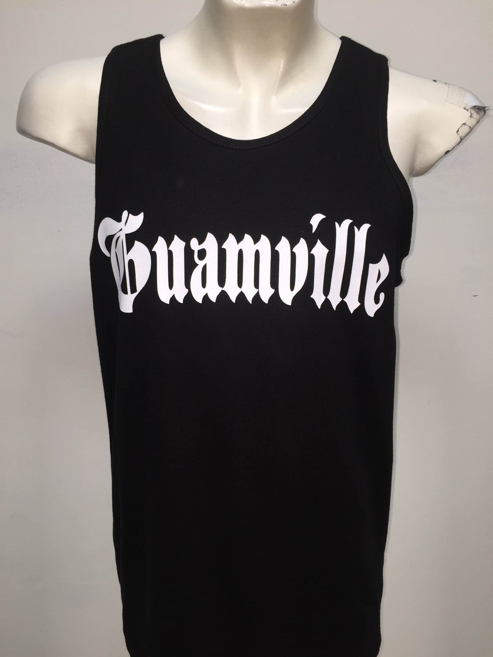 Image of Guamville Tank (Black/White)