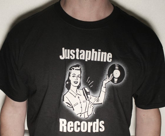 Image of Justaphine Records T-shirt