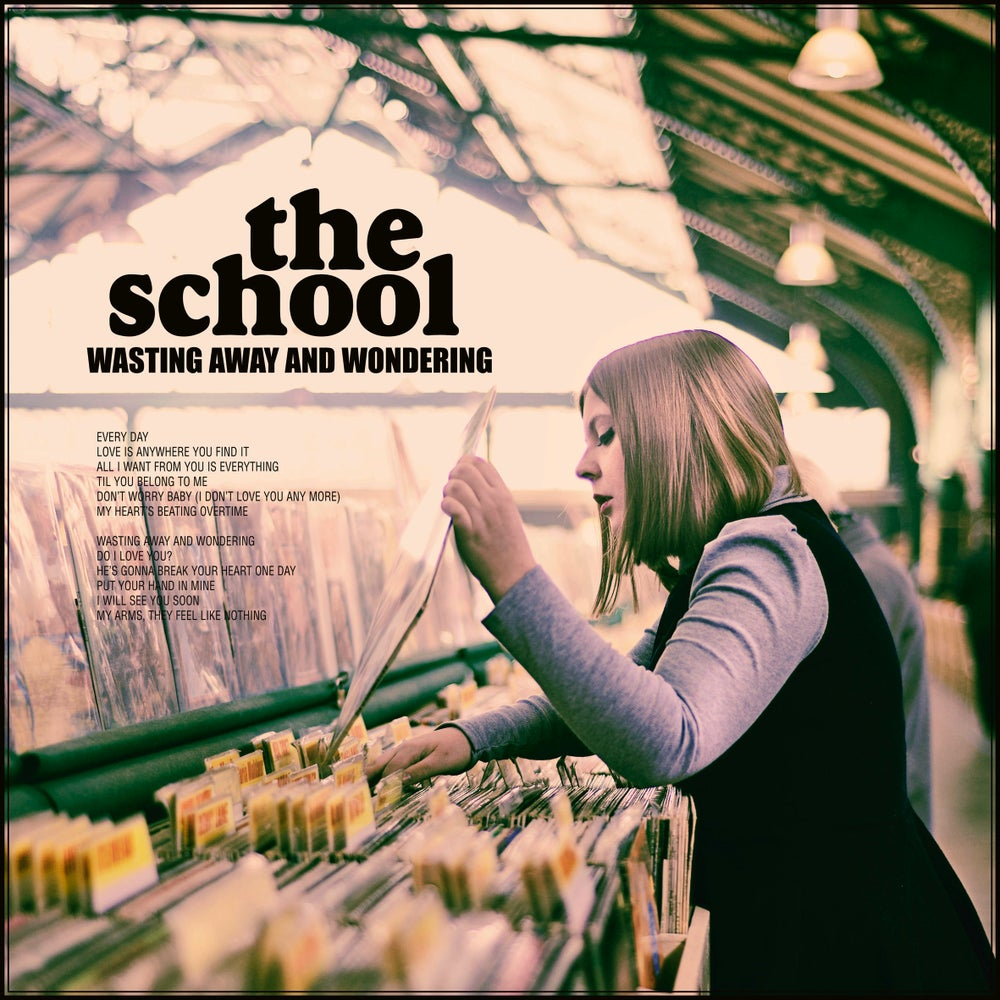 "Image of THE SCHOOL - Wasting Away and Wondering (Limited edition 12"" LP + CD Digipak"