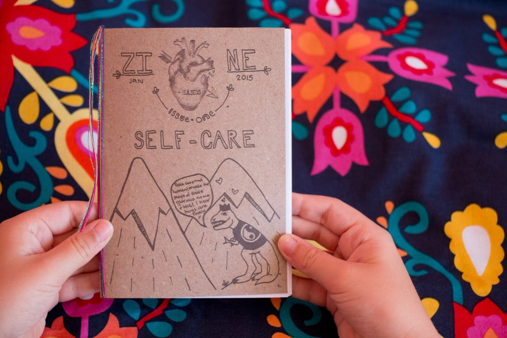 Image of PRE ORDER Interactive Intro to Self-Care Zine