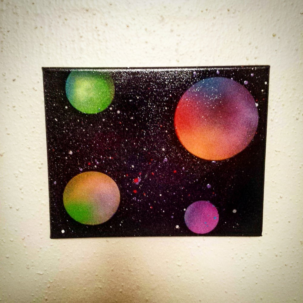 Image of Solar System Canvas