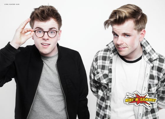 Image of WHITE NIKINSAMMY POSTER