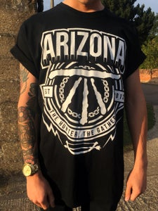 Image of Arizona Full Front Print - 'Est 2012' (Black)
