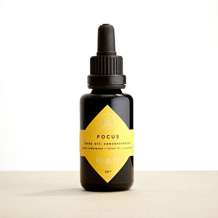 Image of Focus Body Oil: Concentration Therapy