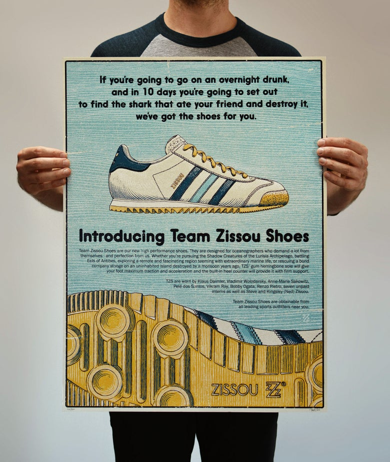 Image of Team Zissou Shoes - Life Aquatic