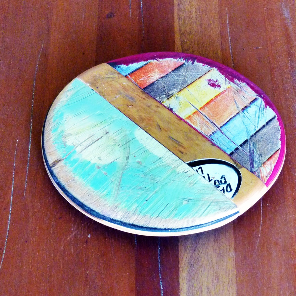 Image of SkateSpot Recycled Skateboard Trivet - (1) Single by Deckstool.