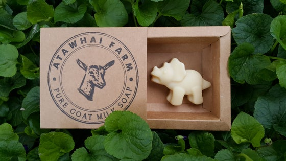 Image of Pure Goat Milk Soap - Dinosaur (Triceratops)