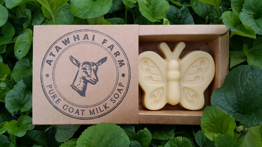Image of Pure Goat Milk Soap - Butterfly (Large)