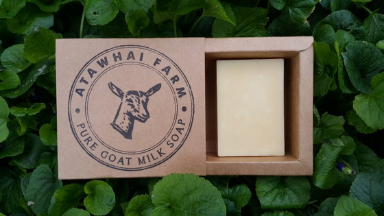 Image of Pure Goat Milk Soap - Block