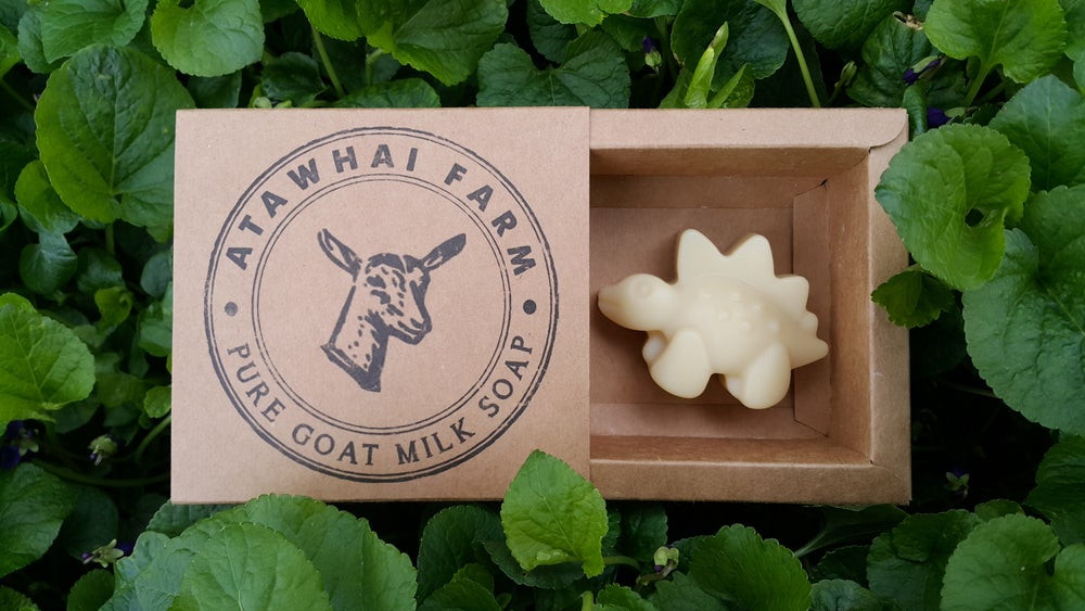 Image of Pure Goat Milk Soap - Dinosaur (Stegosaurus)