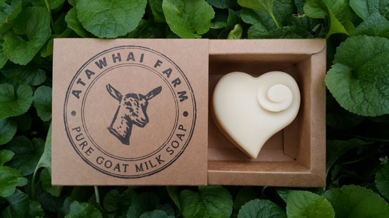 Image of Pure Goat Milk Soap - Heart