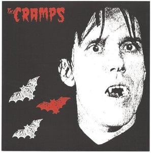 "Image of 7"" The Cramps : Sunglasses After Dark. Orange vinyl."