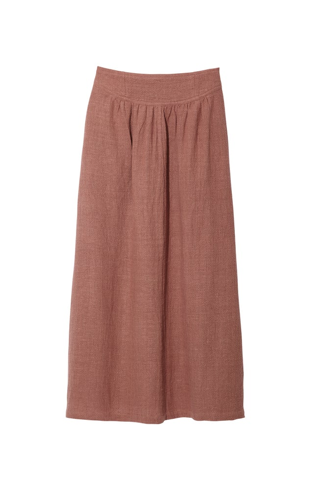 Image of BAND SKIRT MOCHA