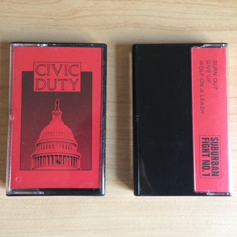 Image of CIVIC DUTY - 3 SONG DEMO TAPE
