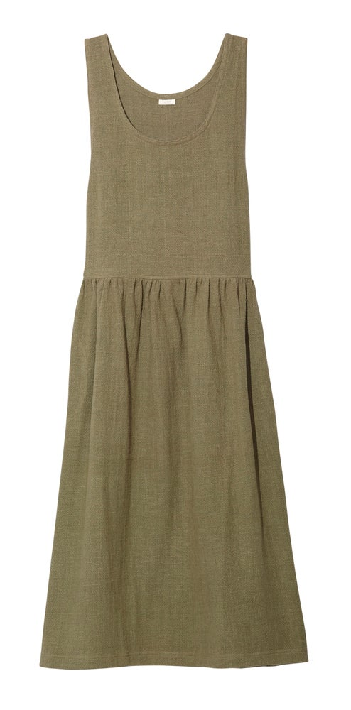 Image of JUMPER DRESS OLIVE