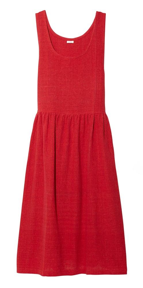 Image of JUMPER DRESS RED