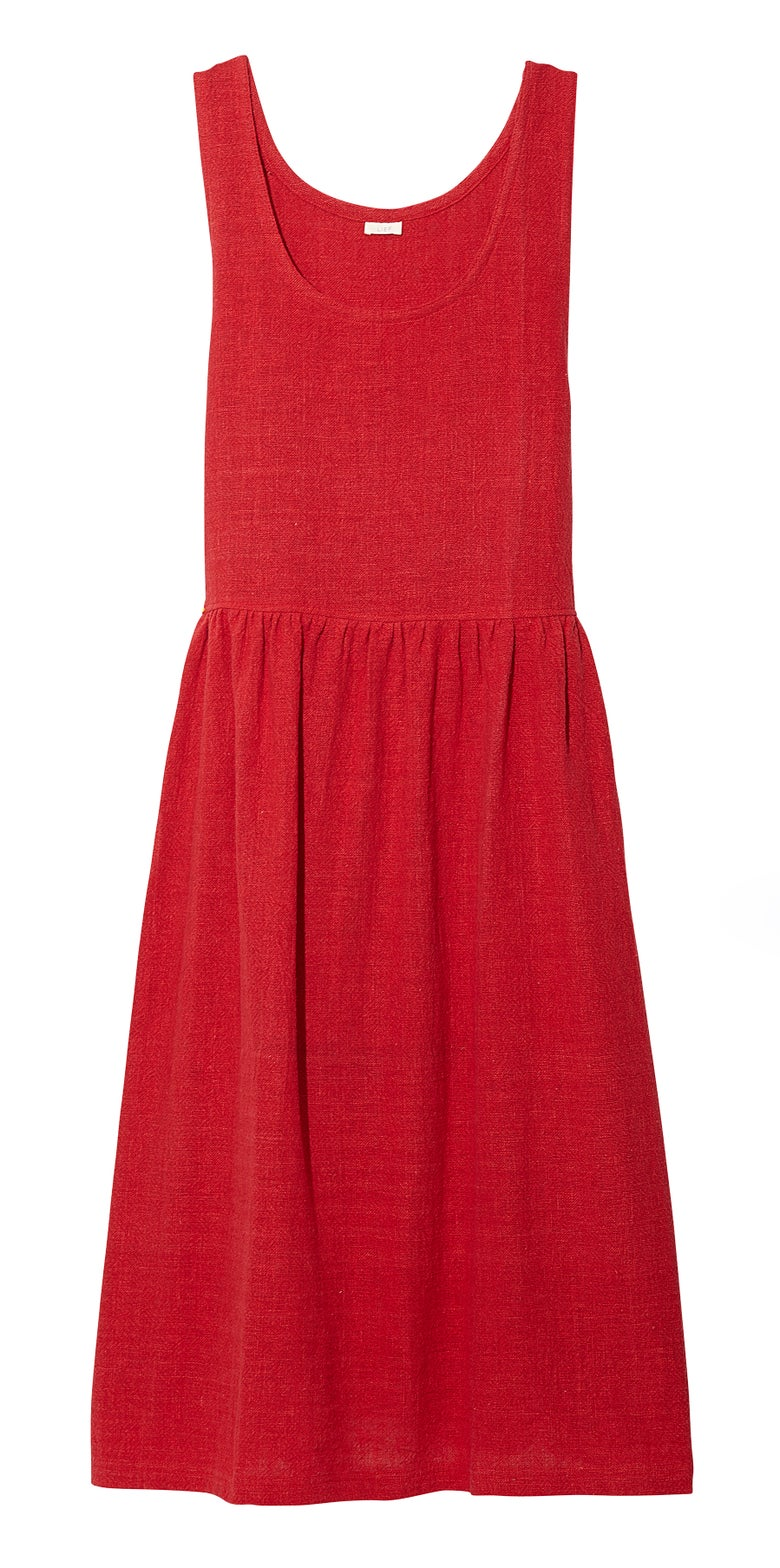 Image of JUMPER DRESS RED
