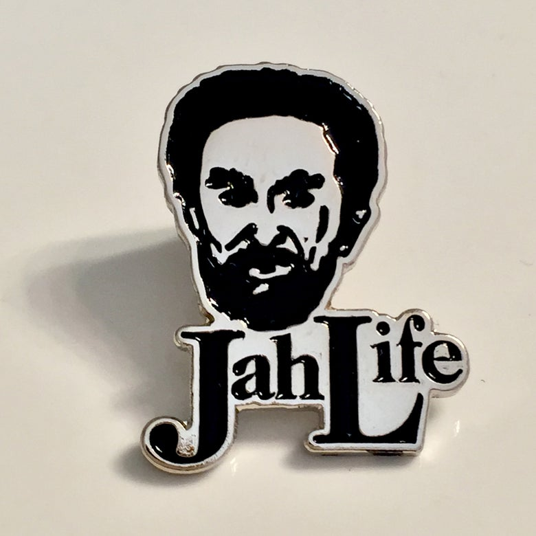 Image of Jah Life enamel pin