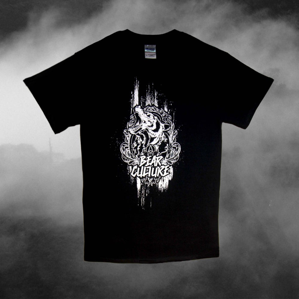 Image of Bear Culture Acedia (Black T-Shirt)