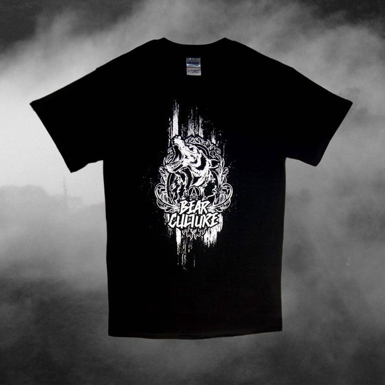 Image of Bear Culture Acedia (Black T-Shirt)
